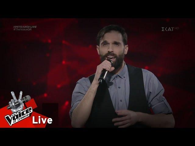 Νίκος Φάρφας - Δε λες κουβέντα   2ος ημιτελικός   The Voice of Greece