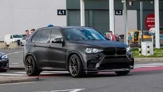 Bmw X5M from Zed Sly w/ FI-exhaust | accerelation, sounds, start-up,...