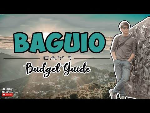 How To Commute To BAGUIO | Baguio Budget Guide Day 1 [T&F]