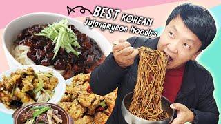 MUST TRY KOREAN Jajangmyeon Noodles & DUMPLINGS! Late Night SHORT RIBS in Seoul
