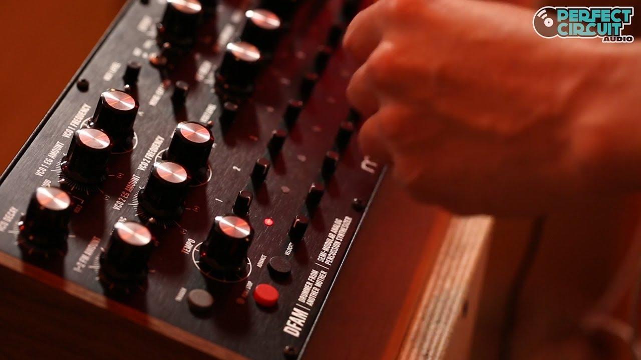 Moog DFAM Analog Drum Synth