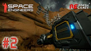 "#2 Закапываемся - Space Engineers ""Nostalgia"""