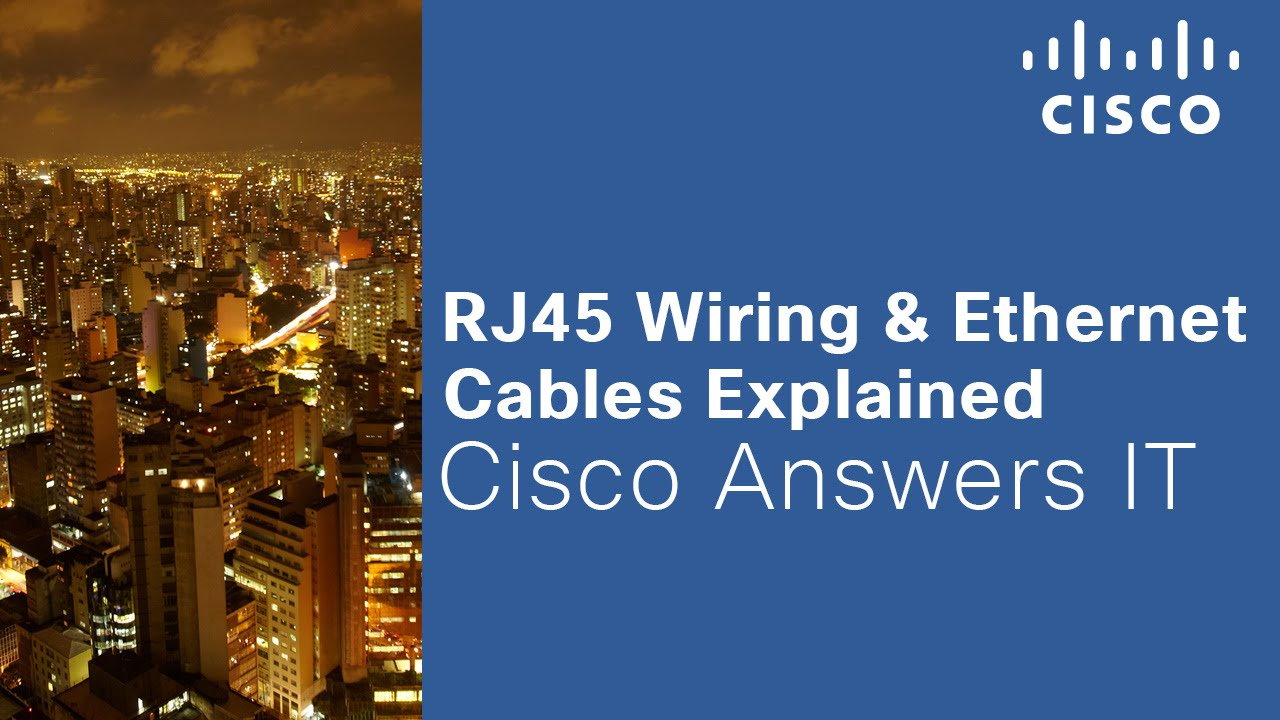 RJ45 Wiring & Ethernet Cables Explained - YouTube
