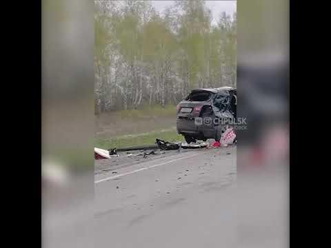Видео ГИБДД-ДПС.РФ: Два человека погибли в страшном ДТП под Ульяновском 1