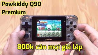 Chi tiết Máy chơi game Powkiddy Q90 Premium Việt hoá giá 800k: Có gì hay ?