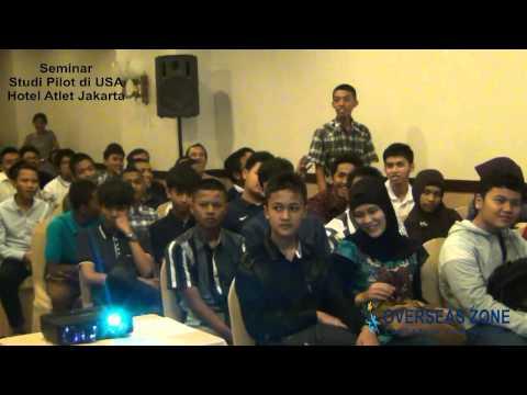 Seminar studi pilot dan teknisi pesawat di Jakarta