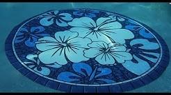 Poolsaic™ Drop-in Pool Mosaics