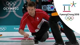 Denmark got their second Curling victory over Korea | Day 9 | Winter Olympics 2018 | PyeongChang