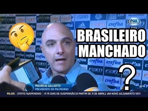 CAMPEONATO BRASILEIRO MANCHADO? PALMEIRAS X INTERNACIONAL - GOL ANULADO PÊNALTI NÃO MARCADO