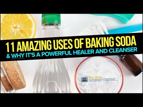 11 Amazing Uses of Baking Soda: Miraculous Healing and Cleansing - Saturday Strategy
