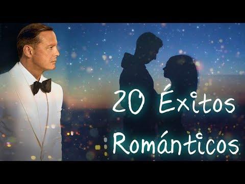 Los 20 Grandes Éxitos Románticos en Español - Mix de Luis Miguel, Ricardo Montaner y  más