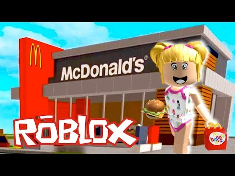 Roblox Baby Goldie Escapes from The Evil Mc Donalds Obby!