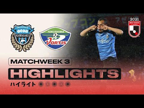 Kawasaki Frontale Tokushima Goals And Highlights