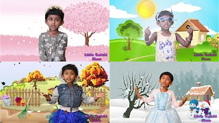 Seasons Song | Four Seasons Song for Kids | Learn four seasons in a year