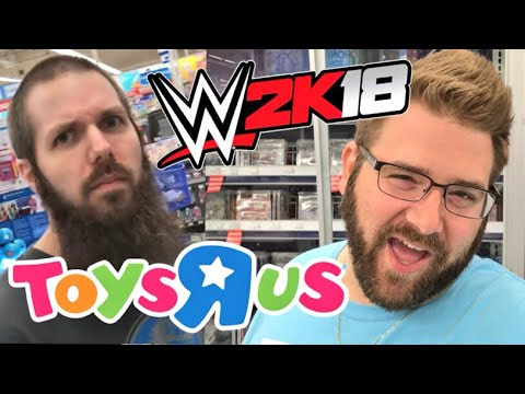 VIDEO GAME SHOPPING AT TOYSRUS! WHAT WWE 2K18 VERSION DID GRIM PREORDER?