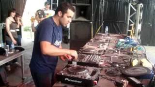 Alex Tb vs Buchecha - 4 Decks@ Montagood Festival 2009 - Lleida - Spain