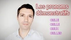Français B2 | Les pronoms démonstratifs CELUI, CELLE, CEUX, CELLES
