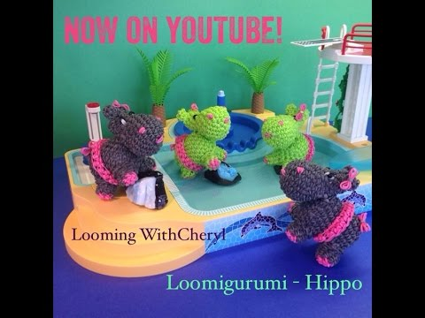 Rainbow Loom Amigurumi Mouse : Rainbow Loom Mouse - Loomigurumi - Amigurumi Hook Only ...