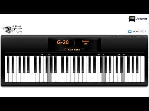 Virtual Piano - Yiruma, Love Me