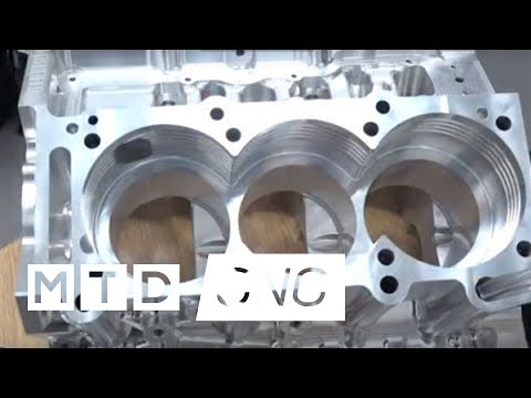 hyperMill reduces programming time of engine block by half