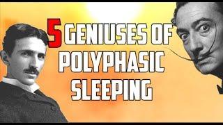 5 Geniuses Of Polyphasic Sleeping