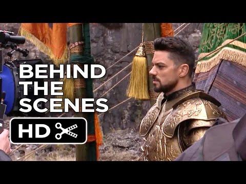 Dracula Untold BEHIND THE SCENES - Set Visit (2014) - Luke Evans Fantasy Movie HD