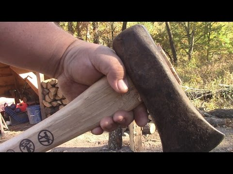Putting A New Handle In My Splitting Maul