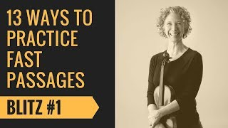 Violin Fast Passages Tutorial #1 Outline