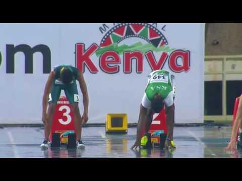 IAAF Boys 100m Final IAAF World Under 18 Athletics Championship Nairobi 2017