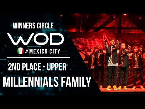 Millennials Family | 2nd Place Upper Division | World of Dance Mexico City Qualifier | #WODMX17