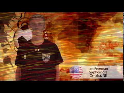 Ian Freeman - 2016 Bellevue U. Men's Soccer