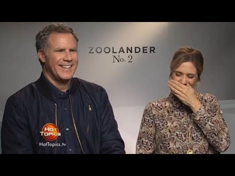 Thumbnail: Will Ferrell and Kristen Wiig face tough questions from kids about Zoolander 2