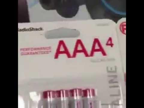 battery vine aaa