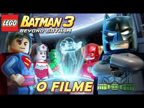 LEGO Batman 3 Beyond Gotham O FILME Dublado e Legendado em Português TODAS AS CENAS DO JOGO