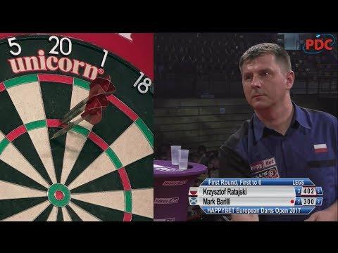 European Darts Open 2017 Krzysztof Ratajski - Mark Barilli //DartTown.pl