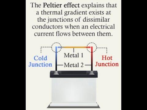 Peltier Module Cooling The Peltier Effect Doovi