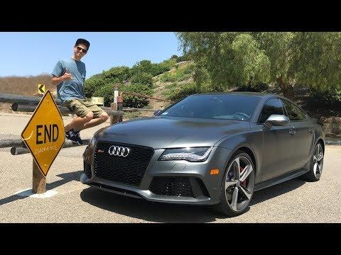 Самая быстрая Ауди? Цена и опыт владения Audi RS7 в США.