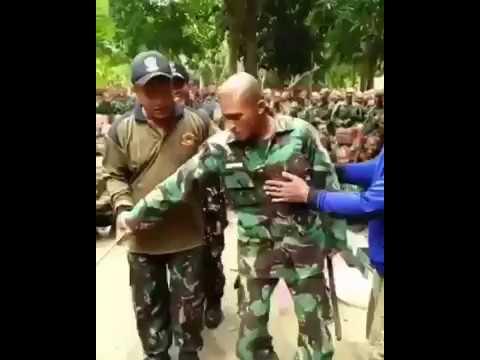 AKSI!! LUCU CALON ANGGOTA TNI SAAT PENDIDIKAN
