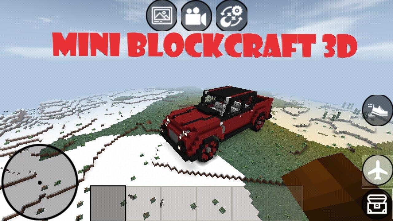 MİNİ BLOCK CRAFT 3D | Araba Yapımı - How to make a car