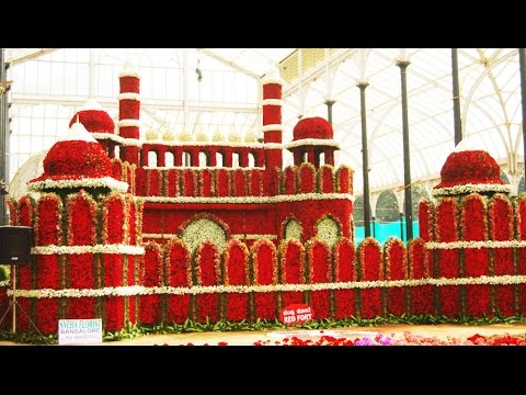 Lalbagh Flower show 2015 Republic Day Special, Bangalore