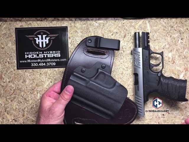 Hidden Hybrid Holster Review IWB and OWB