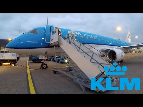 FLIGHT REPORT / KLM EMBRAER 175 / BRUSSELS - AMSTERDAM