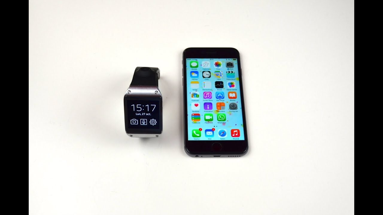 detailed look 81df2 fc682 How to connect Samsung Galaxy Gear to iPhone