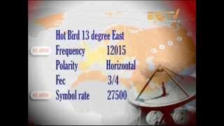 ERI TV on Hot Bird 13 new satellite for Europe ( Saturday, 12 May 2012 )