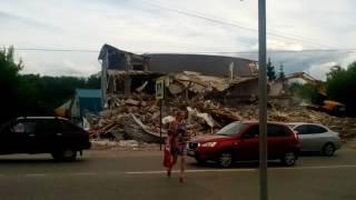 Снос здания на ул. Коммунистической в городе Павлово на Оке. Разъяснения и извинения.
