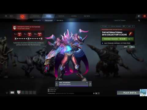 Dota 2 The International 2016 Collector's Cache Español