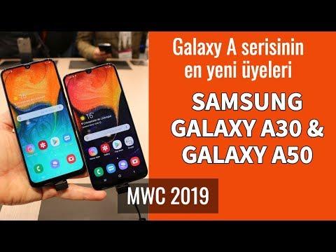 Samsung Galaxy A30 Ve A50 Ön İnceleme
