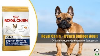 видео Royal Canin Breed Bulldog Adult для английского бульдога с 12 месяцев