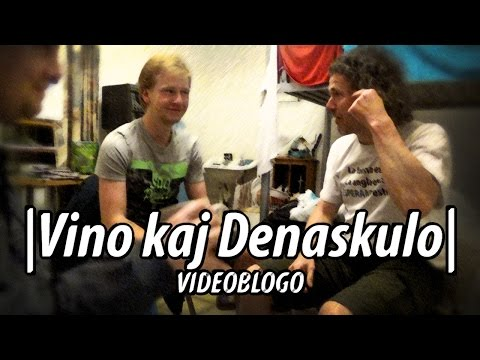 Wine and a Native Esperanto-Speaker | Vino kaj Denaskulo