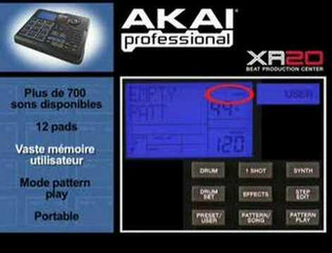 boite à rythmes akai xr20 gratuit
